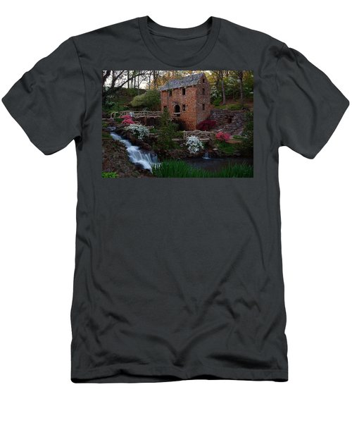 Men's T-Shirt (Slim Fit) featuring the photograph Old Mill by Renee Hardison