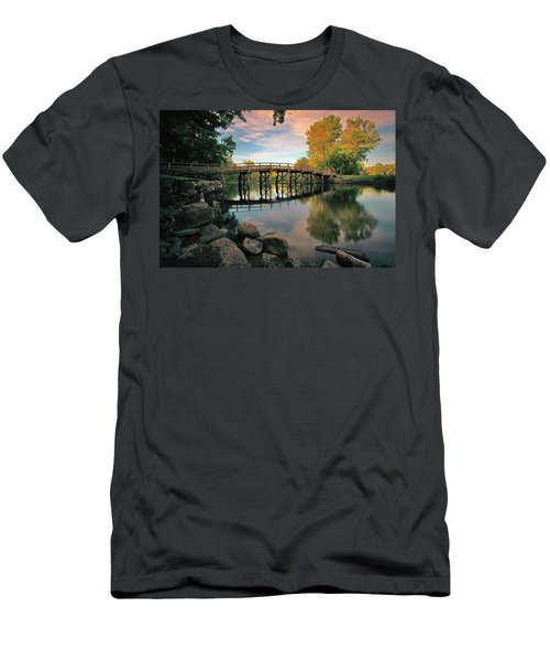 Old North Bridge Men's T-Shirt (Athletic Fit)