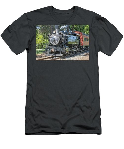 Old Number 10 Men's T-Shirt (Slim Fit) by Jim Thompson