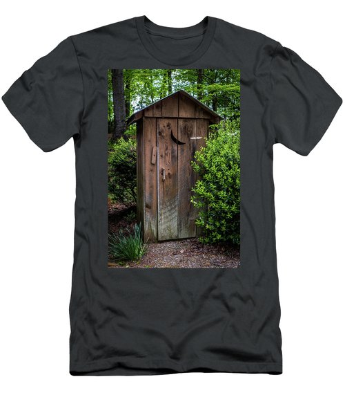 Old Outhouse Men's T-Shirt (Athletic Fit)