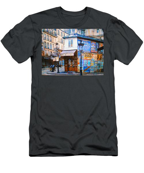 Old Paris Cafe Men's T-Shirt (Athletic Fit)