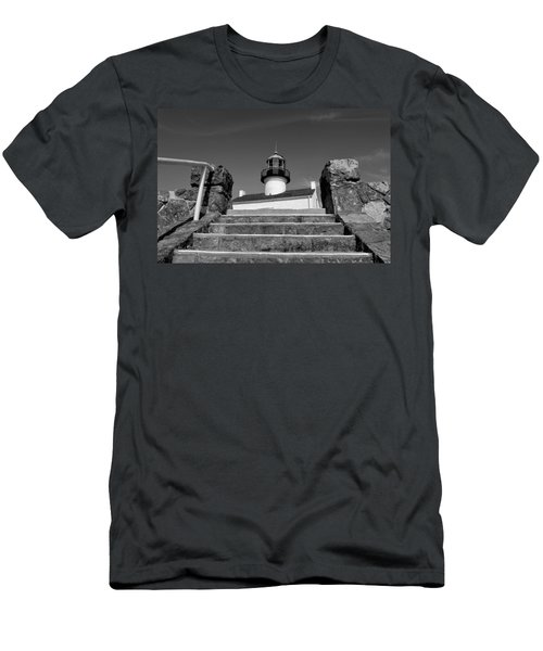 Old Point Loma Lighthouse - From The Stairwell  Men's T-Shirt (Athletic Fit)