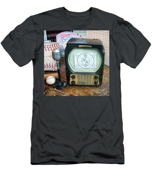 Old Timers Tv Baseball  Men's T-Shirt (Athletic Fit)