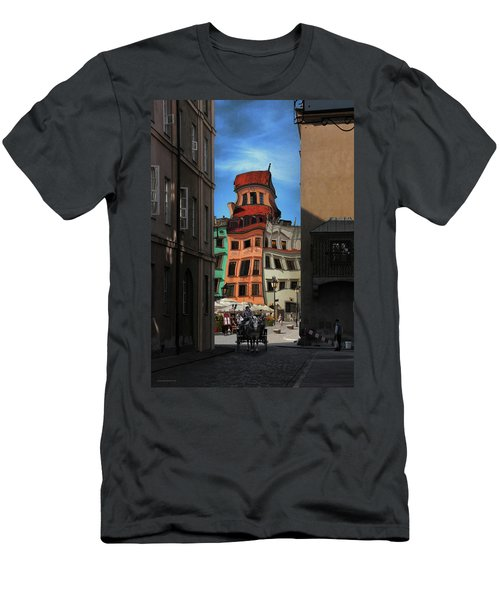 Old Town In Warsaw #14 Men's T-Shirt (Athletic Fit)