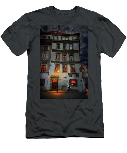 Old Town In Warsaw #17 Men's T-Shirt (Athletic Fit)