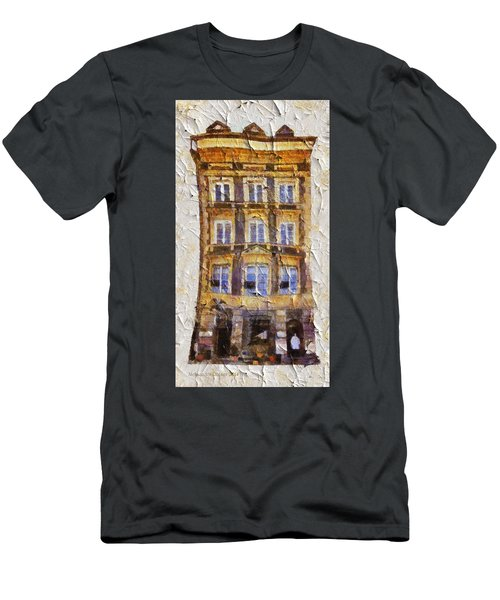 Old Town In Warsaw #21 Men's T-Shirt (Athletic Fit)