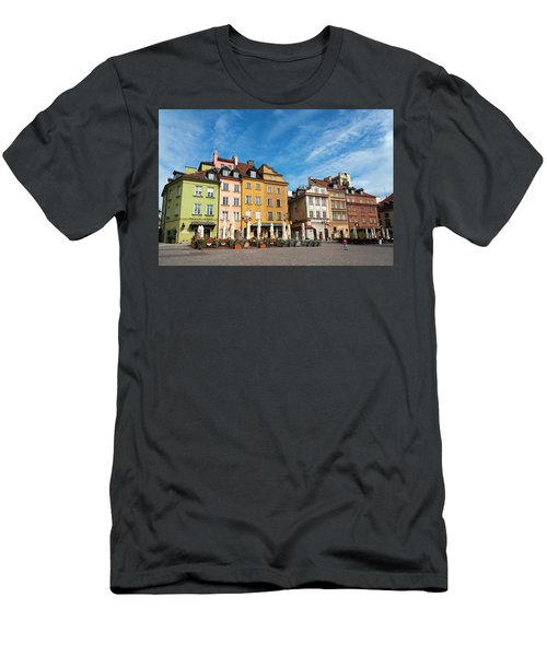 Old Town Warsaw Men's T-Shirt (Slim Fit) by Chevy Fleet