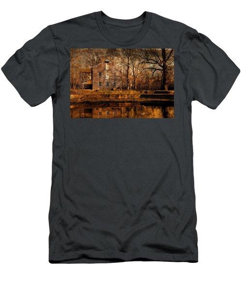 Old Village - Allaire State Park Men's T-Shirt (Athletic Fit)