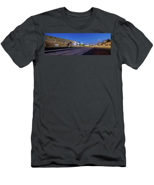 Old Wall Signage - San Antonio  Men's T-Shirt (Slim Fit) by Micah Goff