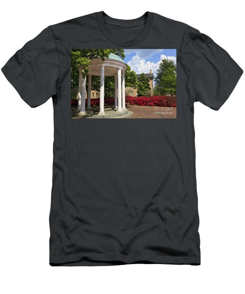 Old Well At Chapel Hill In Spring Men's T-Shirt (Athletic Fit)