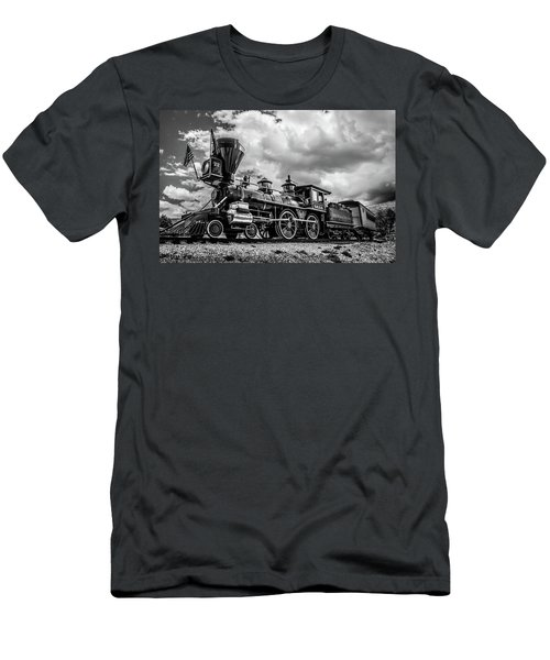 Old West Train Men's T-Shirt (Athletic Fit)