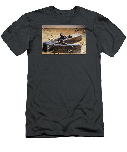 Old Wooden Planes Men's T-Shirt (Slim Fit) by Trevor Chriss