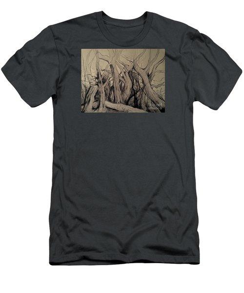 Old Woods Men's T-Shirt (Athletic Fit)