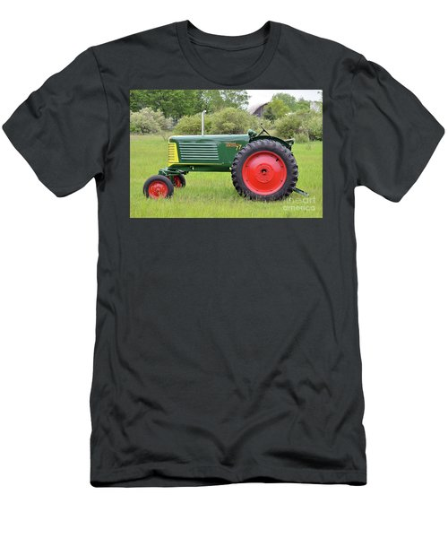 Oliver Row Crop Tractor Men's T-Shirt (Athletic Fit)