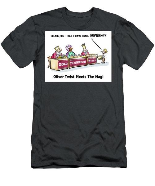 Oliver Wants Some Myrrh Men's T-Shirt (Athletic Fit)