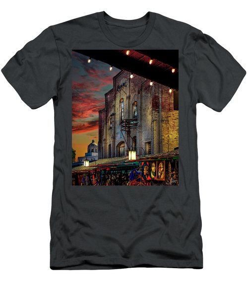 Olvera Street Market Men's T-Shirt (Athletic Fit)