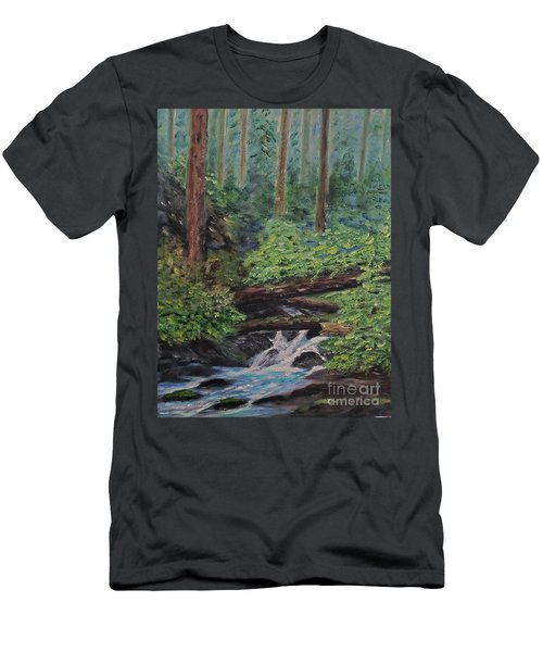 Olympic National Park Men's T-Shirt (Athletic Fit)