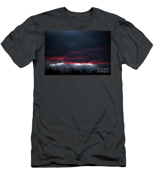 Ominous Autumn Sky Men's T-Shirt (Athletic Fit)