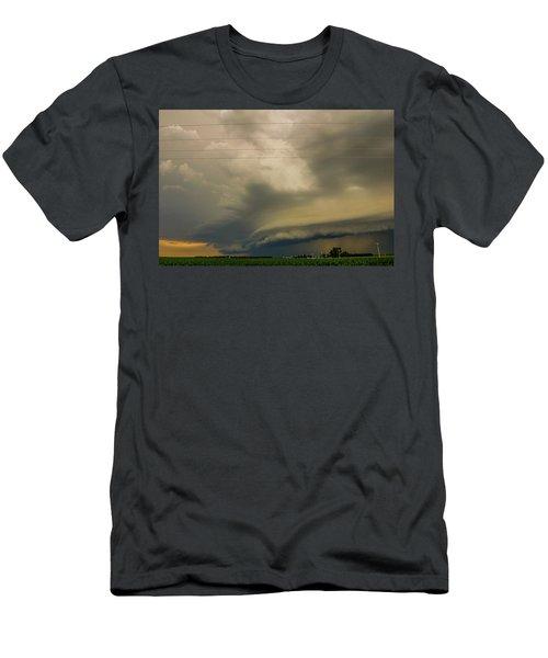 Ominous Nebraska Outflow 007 Men's T-Shirt (Athletic Fit)
