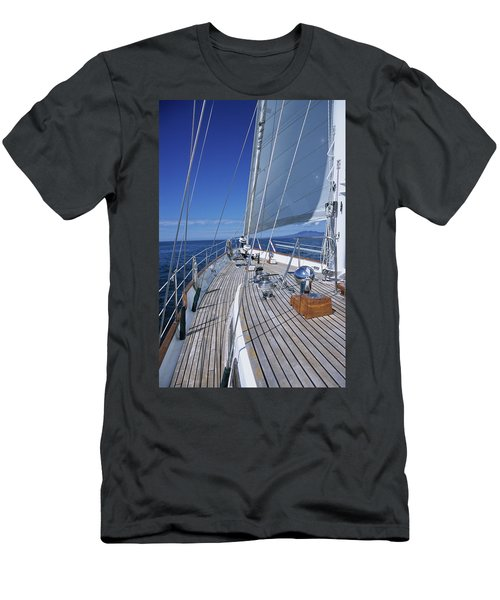 On Deck Off Mexico Men's T-Shirt (Athletic Fit)
