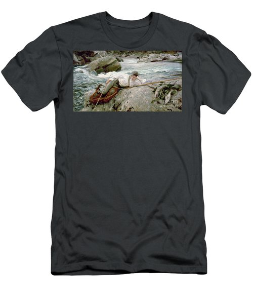 On His Holidays Men's T-Shirt (Athletic Fit)
