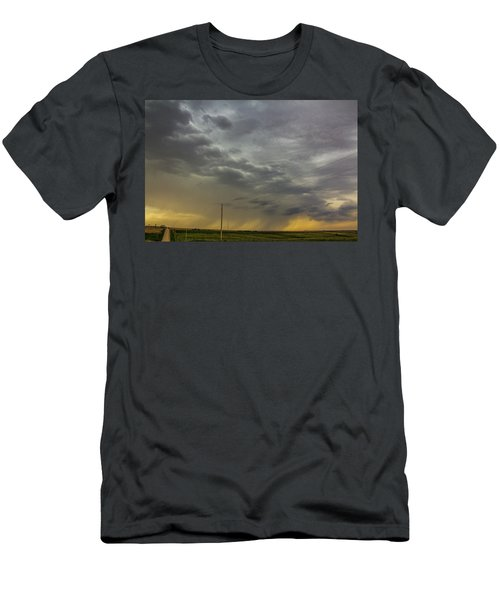 On My Way To Wray Colorado 011 Men's T-Shirt (Athletic Fit)