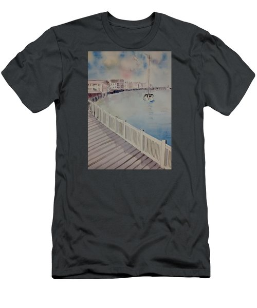 On The Bay Men's T-Shirt (Athletic Fit)