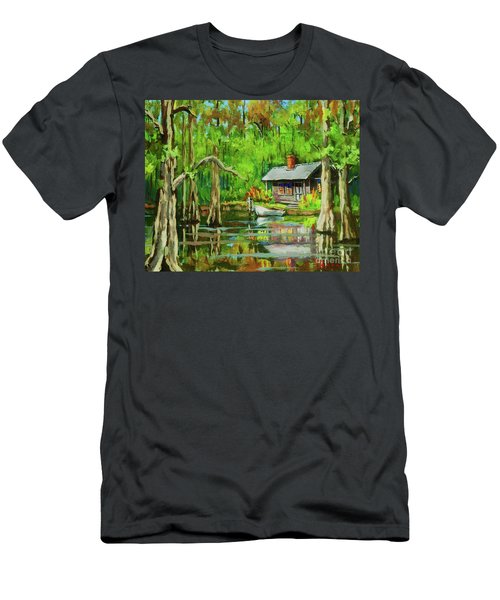 On The Bayou Men's T-Shirt (Athletic Fit)