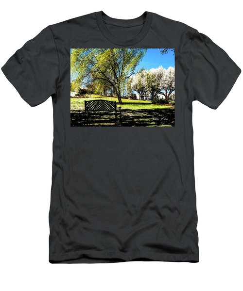 On The Bench Men's T-Shirt (Athletic Fit)