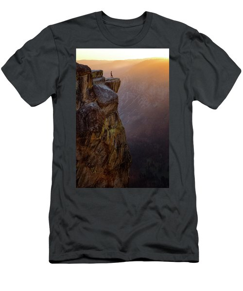 On The Edge Men's T-Shirt (Slim Fit) by Nicki Frates