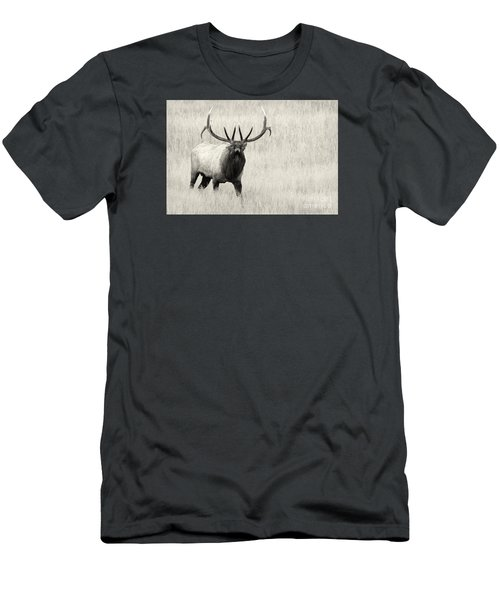 Men's T-Shirt (Slim Fit) featuring the photograph On The Fight by Aaron Whittemore