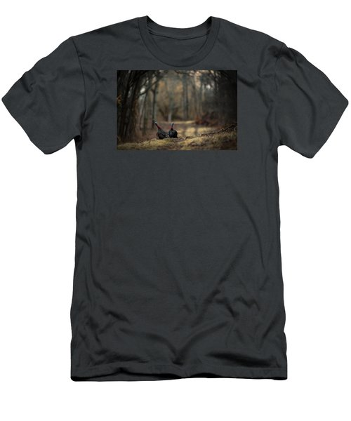 On The Woodlot Path Men's T-Shirt (Athletic Fit)