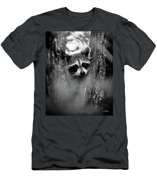 On Watch - Bw Men's T-Shirt (Athletic Fit)