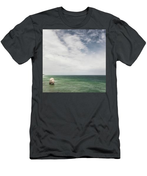 Men's T-Shirt (Slim Fit) featuring the photograph One Apostle by Joseph Westrupp