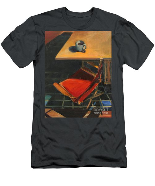 Men's T-Shirt (Slim Fit) featuring the painting One Cup by Daun Soden-Greene