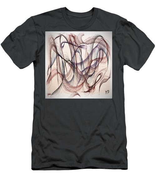 One Eye Abstract Men's T-Shirt (Athletic Fit)