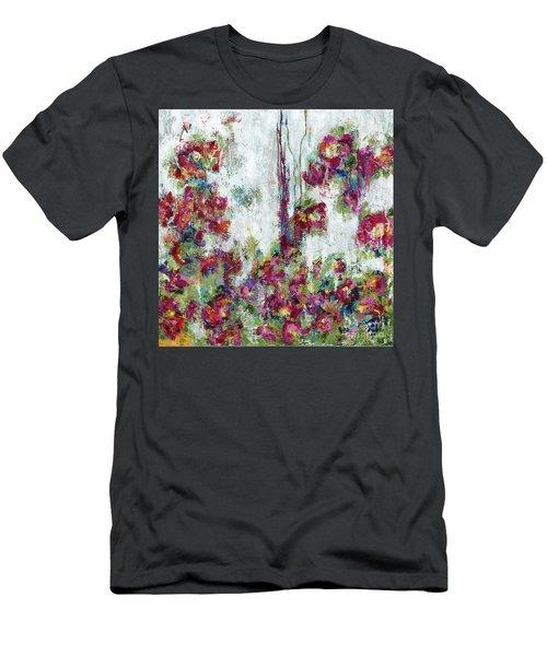 One Last Kiss Men's T-Shirt (Slim Fit) by Kirsten Reed