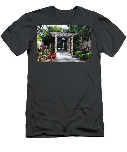 One Long Embrace- Horizontal Men's T-Shirt (Athletic Fit)