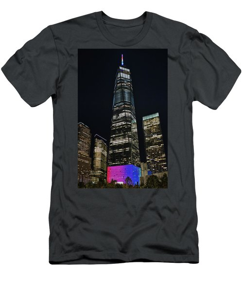 One World Trade Center Men's T-Shirt (Athletic Fit)