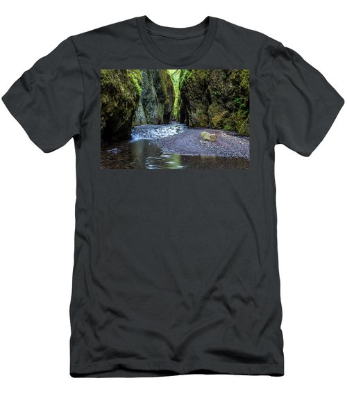 Men's T-Shirt (Athletic Fit) featuring the photograph Oneonta Gorge by Pierre Leclerc Photography