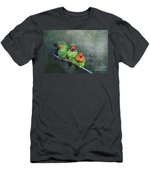 One,two,three... Men's T-Shirt (Athletic Fit)