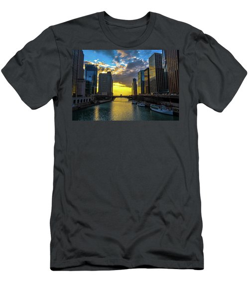 Onto The Lake Men's T-Shirt (Athletic Fit)