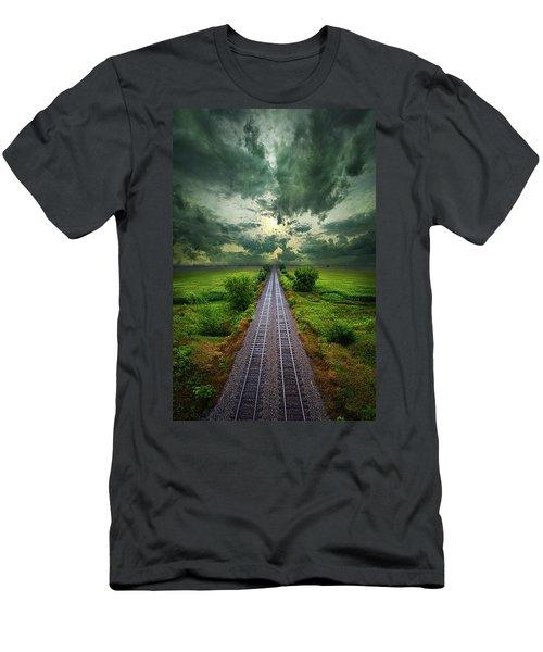 Onward Men's T-Shirt (Slim Fit) by Phil Koch