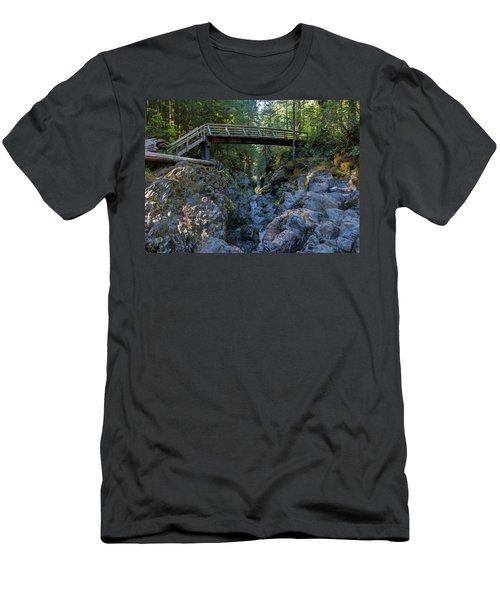 Opal Creek Bridge Men's T-Shirt (Athletic Fit)