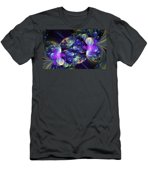Opal Essence Men's T-Shirt (Slim Fit) by Lea Wiggins