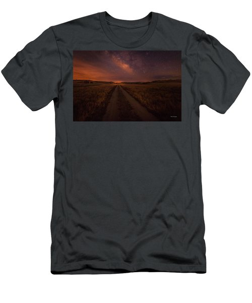 Men's T-Shirt (Athletic Fit) featuring the photograph Open Range by Tim Bryan