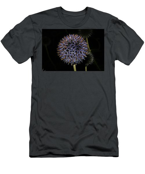 Opened Globe Thistle  Men's T-Shirt (Athletic Fit)
