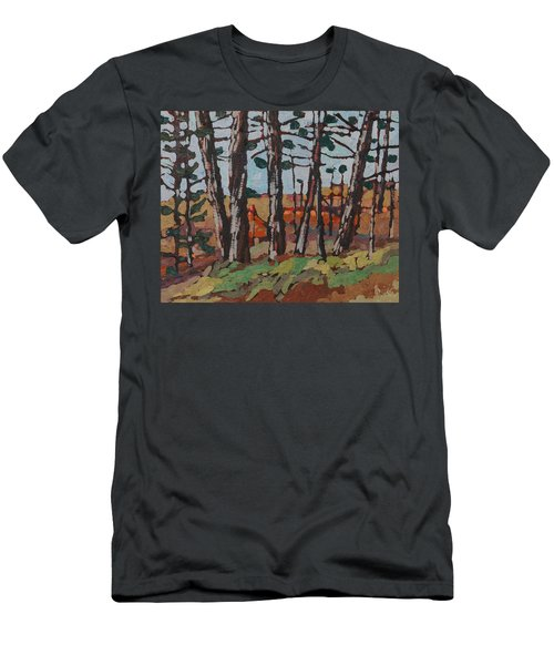 Opinicon November Forest Men's T-Shirt (Athletic Fit)