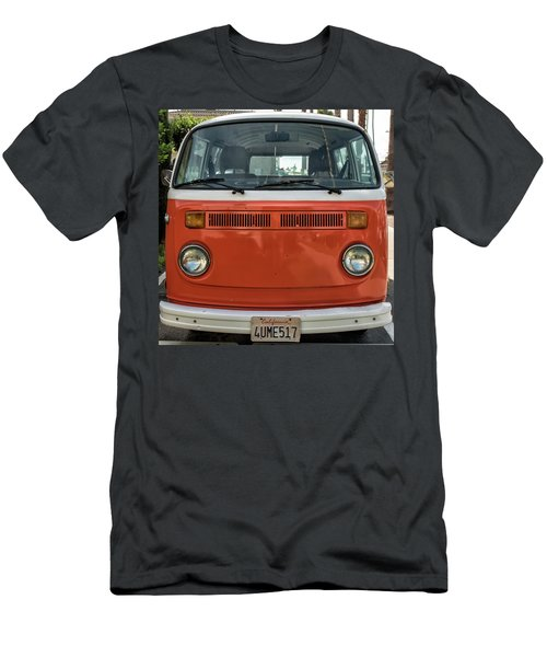 Orange Bus Men's T-Shirt (Athletic Fit)