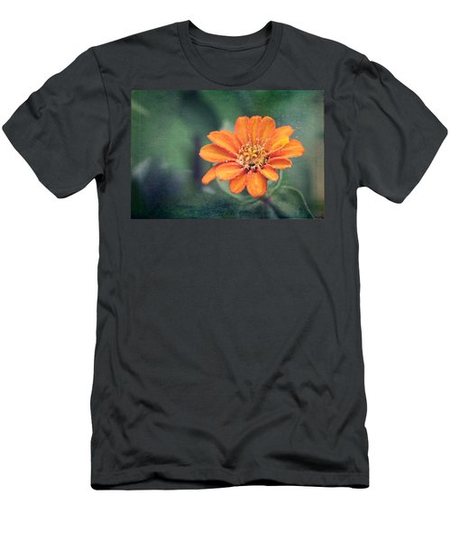 Orange Zinnia Men's T-Shirt (Athletic Fit)